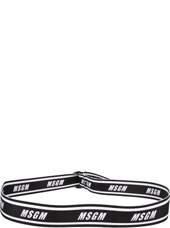 MSGM Logo Belt