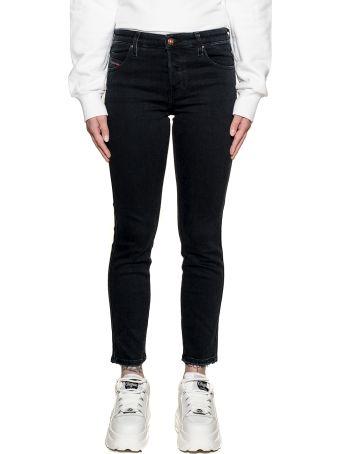 Diesel Dark Blue Bababhila Denim Jeans