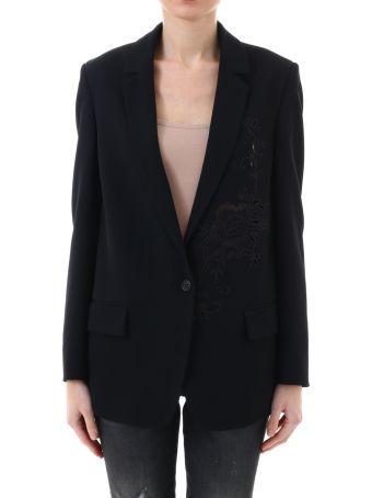 Stella McCartney Jacket Macramè Black