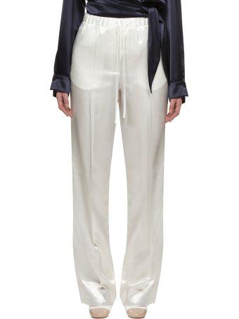 Jil Sander High-waist Drawstring Trousers