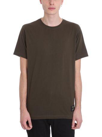 Maharishi Green Cotton T-shirt