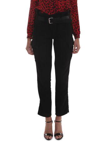 RTA Black Cargo Trousers