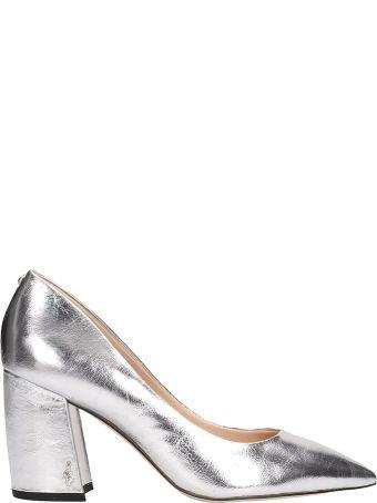 Sam Edelman Silver Leather Tatiana Decollete