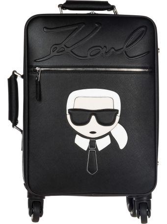 Karl Lagerfeld  Suitcase Trolley K/ikonik