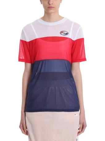 Fila Reina 2 Layer Colour Block T-shirt