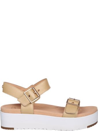 UGG Angie Leather Sandals