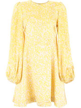 Ganni Printed Mini Dress