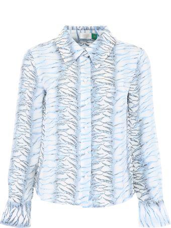 Rixo London Zebra Shirt