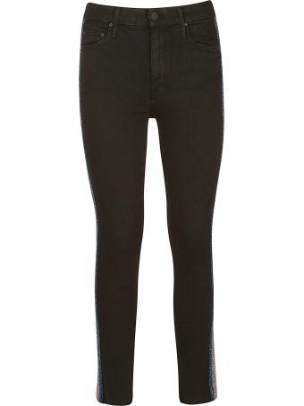 Mother Side Stripe Jeans