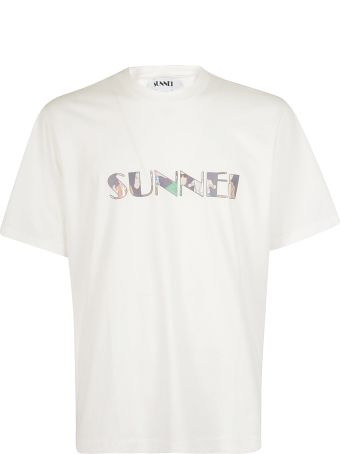 Sunnei Logo Print T-shirt
