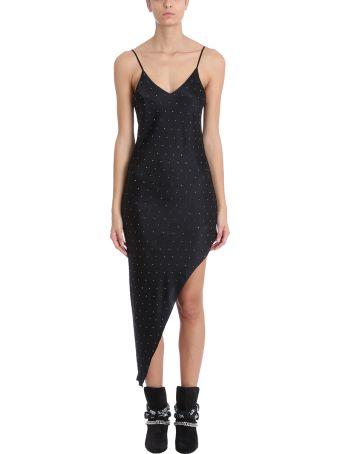 AMIRI Black Silk Dress
