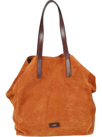 Closed Logo Patch Tote