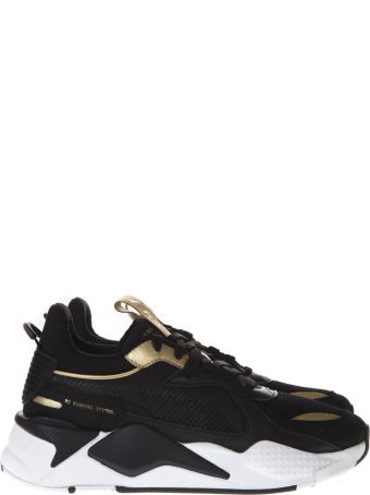 Puma Select Puma Rs X Trophy Black Mesh Sneakers