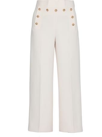 Tory Burch Cropped Sailor Pant