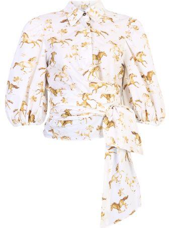 Ganni Printed Shirt