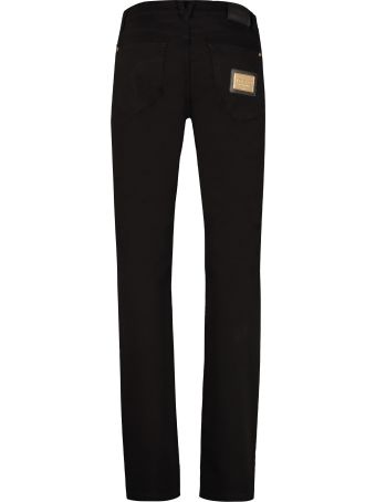 Versace 5-pocket Slim Fit Jeans