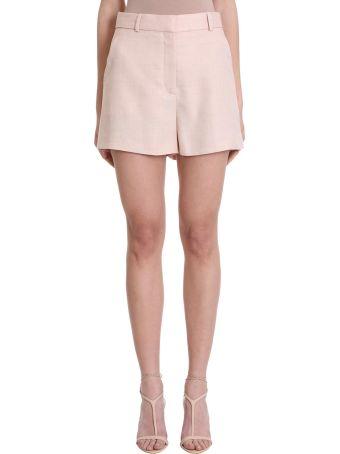 Stella McCartney Pink Linen And Cotton Shorts