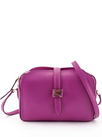 Rochas Fuchsia Leather Mini Bag