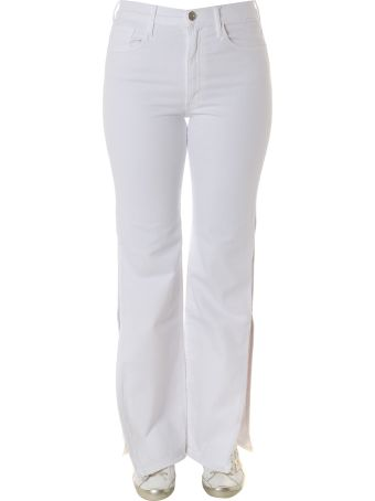 3x1 White Adeline Stretched Cotton Jeans
