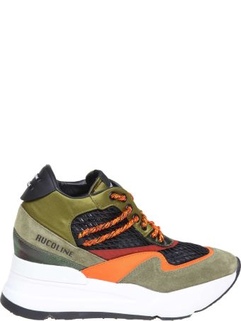 Ruco Line Rucoline Sneakers R-evolve In Fabric And Satin