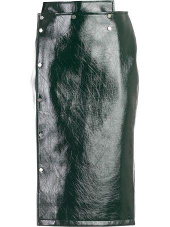 Eudon Choi Chiara Patent Pencil Skirt