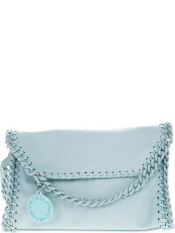 Stella McCartney Candy Mini Falabella In Marine Blue Fabric
