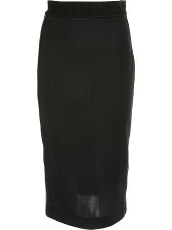 Fendi Ff Logo Band Skirt