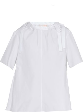 Marni Poplin Cotton Blouse