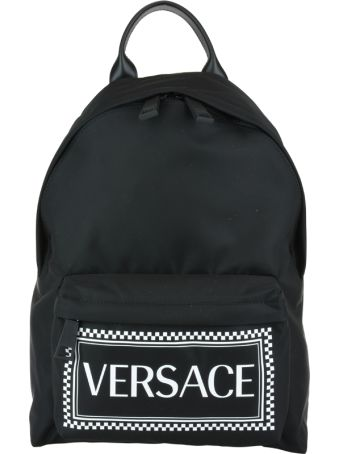 Versace Logo Versace Backpack