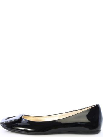 Roger Vivier Gommette Shoes Black Patent