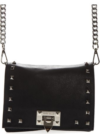 Marc Ellis Tote Hailee Bag In Black Laminated Leather