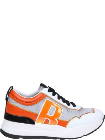 Ruco Line Rucoline Sneakers R-evolve In Leather And Fabric