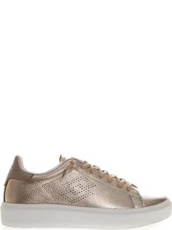 Lotto Leggenda Impression Metal Bronze Laminate Leather Sneaker