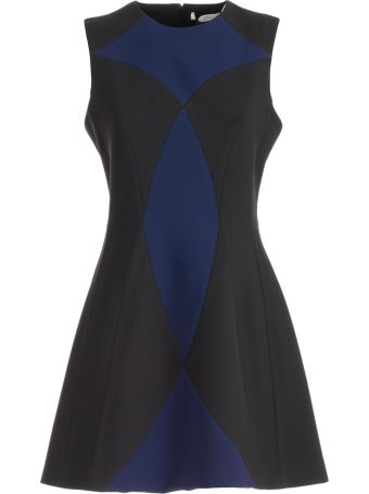 Versace Collection Paneled A-line Dress