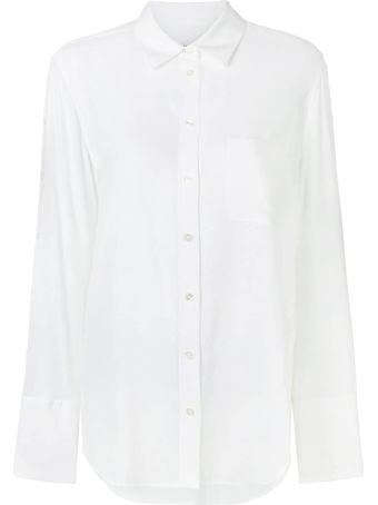 Equipment Brayden Washed-silk Shirt