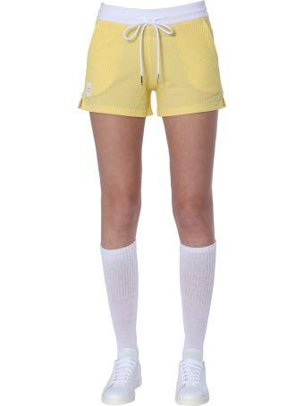 Thom Browne Seersucker Cotton Shorts