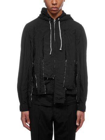 Comme Des Garçons Homme Plus Distressed Jacket