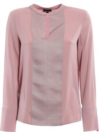 Giorgio Armani Silk-crepe Shirt