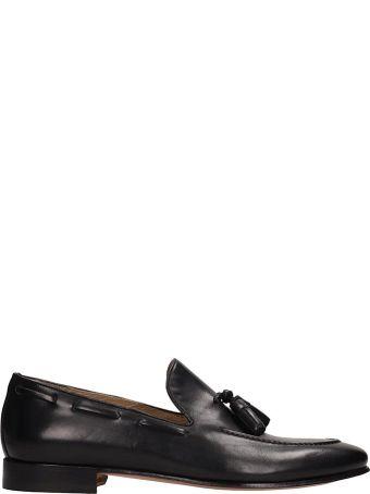 J. Wilton Black Leather Loafer