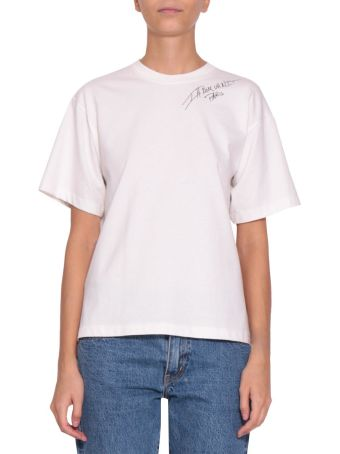 ih nom uh nit Logo Cotton T-shirt