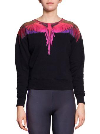 Marcelo Burlon Color Wings Cotton Sweatshirt