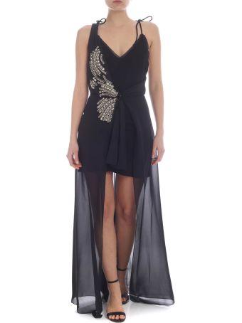 Patrizia Pepe Embellished Long Dress