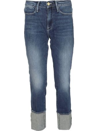 Frame Cropped Length Jeans