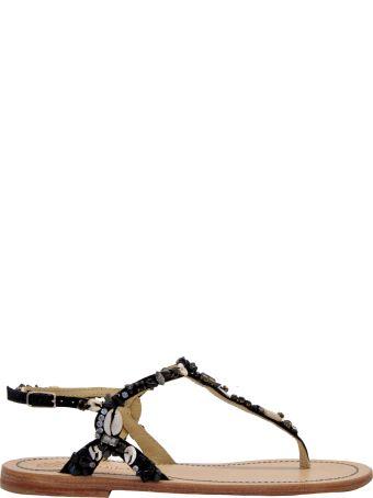 Malìparmi Maliparmi Sea Jewelry Flat Sandals