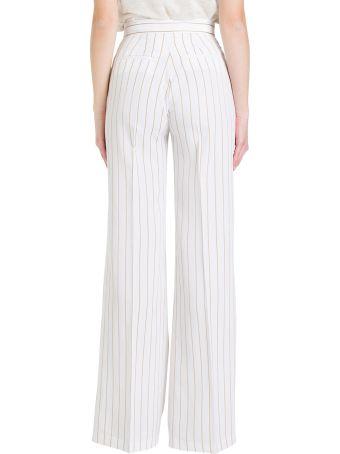 Liu-Jo Flared And Striped Trousers