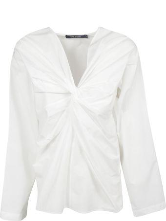 Sofie d'Hoore Long-sleeve Twist Effect Shirt