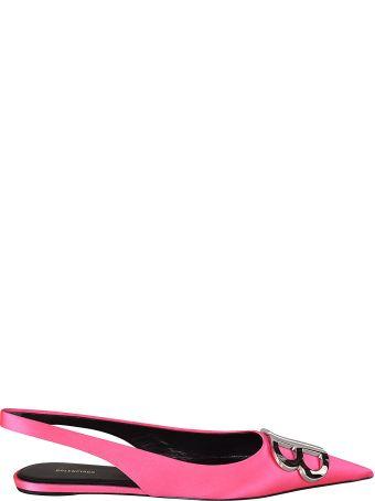 Balenciaga Bb Slingback Ballerinas