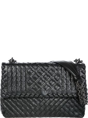 Bottega Veneta  Leather Cross-body Messenger Shoulder Bag Olimpia