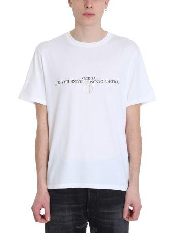 Golden Goose Golden White Cotton T-shirt