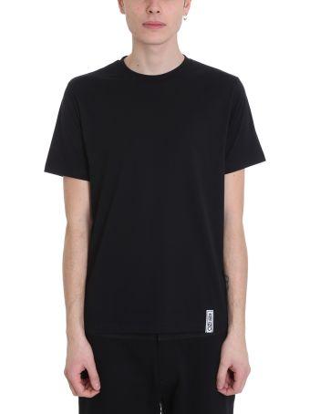 Kenzo Basic Black Cotton T-shirt